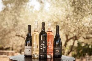 Photo 8 - coffret - bouteilles vins biologiques - blanc rouge rosé - Domaine Saint Jean de l'Arbousier Montpellier