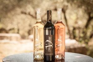 Photo 2 - coffret - bouteilles vins biologiques - blanc rouge rosé - Domaine Saint Jean de l'Arbousier Montpellier