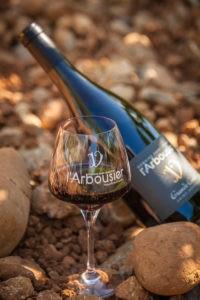 Photo portrait - bouteille Grande Cuvée - terroir - vin bio - Domaine Saint Jean de l'Arbousier - AOC languedoc Saint-Drézéry