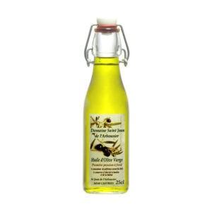 Photo - bouteille d'huile d'Olive - Saint Jean de l'Arbousier - Montpellier - Castries
