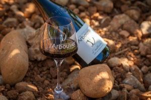 Photo 2 - Composition Vin bouteille verre - Terroir - L'Inattendu - Domaine Saint Jean de l'Arbousier