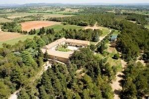 Photo 2 paysage - Vue aérienne du domaine Saint Jean de l'Arbousier - Montpellier - Vignoble
