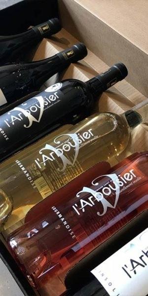 Photo - Coffret 6 bouteilles de vin - Vin Bio - Domaine Saint Jean de l'Arbousier - Montpellier - Cadeau