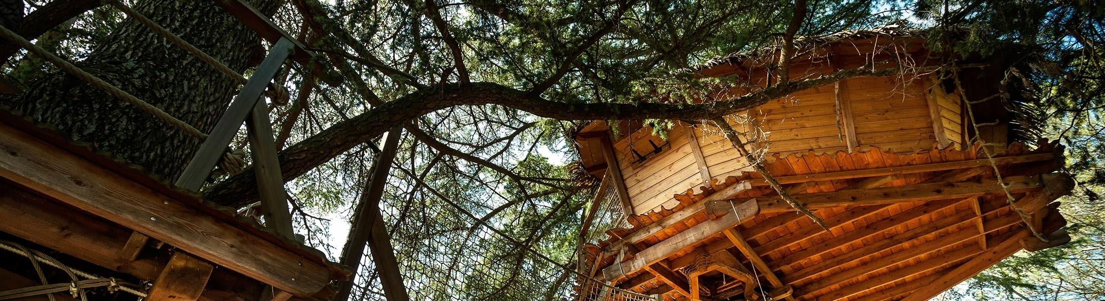 Photo header- Oenotourisme - cabane dans les arbres - Domaine de l'Arbousier - Montpellier Hérault Tourisme