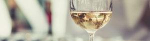 Photo header- verre de vin blanc - Gourmandise blanc - Domaine Saint Jean de l'Arbousier - Montpellier