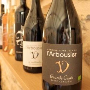 Photo - bouteille vin biologique - Domaine Saint Jean de l'Arbousier - Gourmandise Grande Cuvée L'Insolite