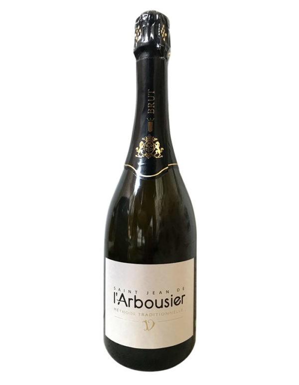 Photo – Saint Jean de l'Arbousier – méthode traditionnelle – blanc champagnisé – bulle – vin effervescent Montpellier
