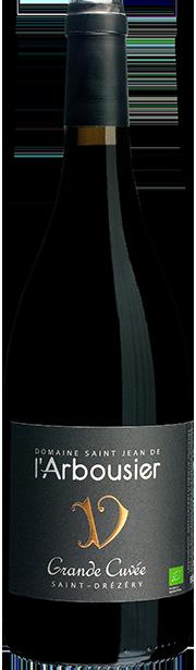 Photo fond png - bouteille de vin - rouge - Grande Cuvée - Saint Drézéry