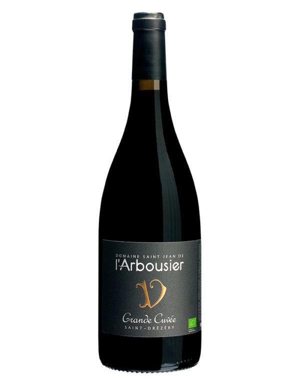 Photo – bouteille de vin – rouge – Grande Cuvée – Saint Drézéry