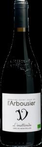 Photo fond png 2 - bouteille de vin - rouge - l'Inattendu - Grès de Montpellier