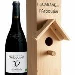 Photo - bouteille de vin - rouge - l'Inattendu - Grès de Montpellier - Nichoir
