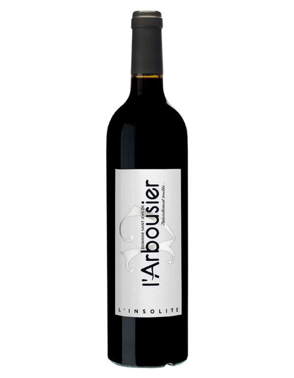 Photo – bouteille de vin Montpellier – rouge – L'Insolite – Domaine Saint Jean de l'Arbousier – IGP Pays d'Oc