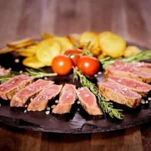 Photo 2 - vin rouge - mets - viande - Montpellier gastronomie