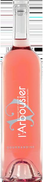 Photo fond png - bouteille de vin - rosé - Gourmandise rosé